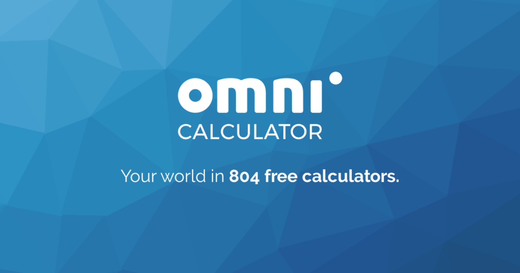 Logo Omni Calculator