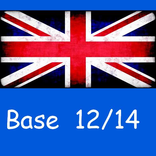 Anglais : base 12/14