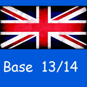 Anglais : base 13/14