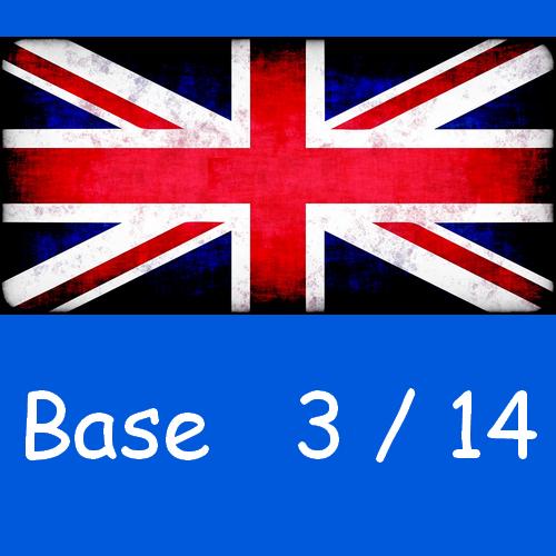 Anglais : base 3/14