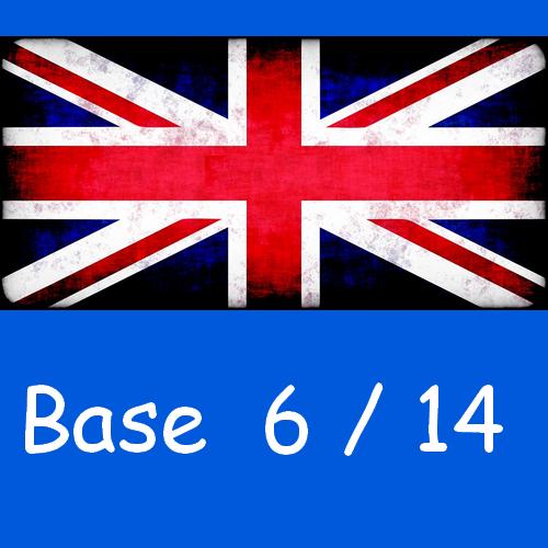 Anglais : base 6/14
