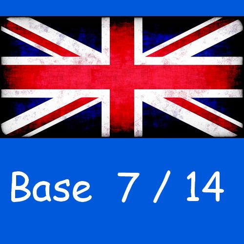 Anglais : base 7/14