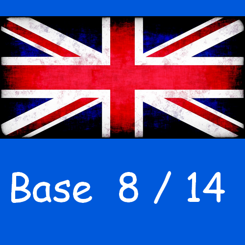 Anglais : base 8/14