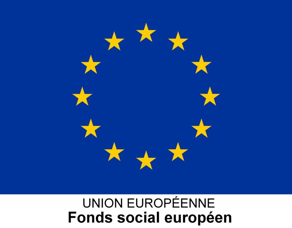 Logo du Fonds Social Européen