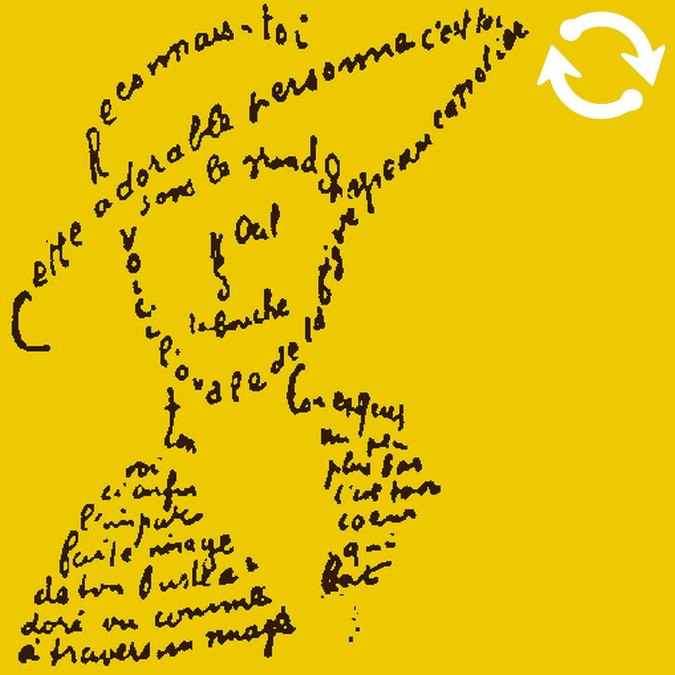 Calligramme poétique