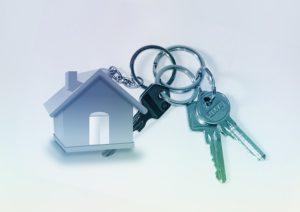 Porte-clé de maison