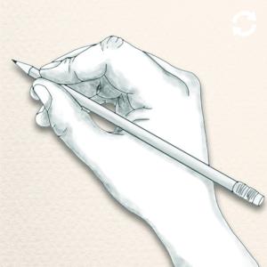 Main tenant un crayon
