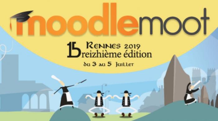 Bandeau évènement MoodleMoot - Rennes 2019